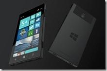 concepto telefono surface de Microsoft