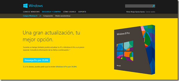 promociones windows 8