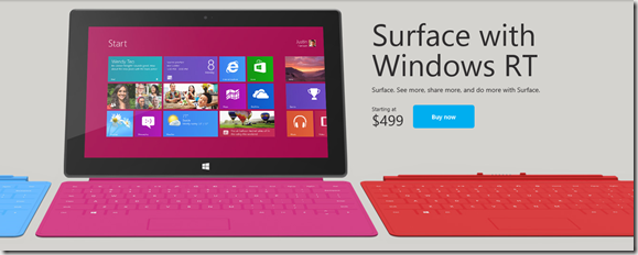 Surface RT venta