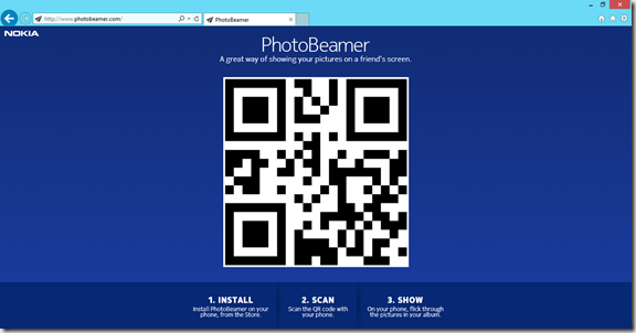 photobeamer web