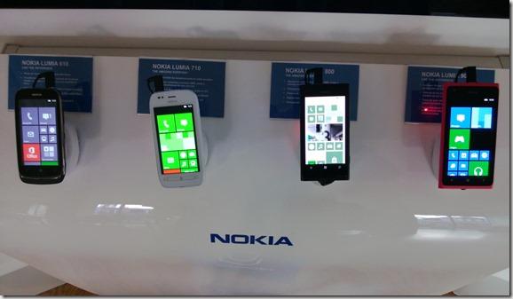 Nokias Lumias WP 7.8