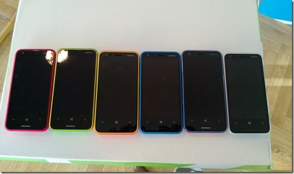 Colores Lumia 620