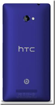 HTC 8X Back