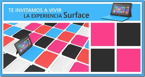 invitacion presentacion Surface