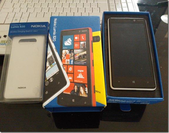 Kit prueba Lumia 820