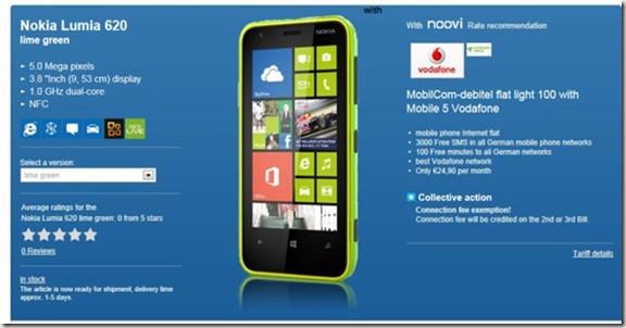 Nokia 620 alemania