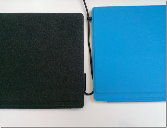 Touch Cover y Type Cover Exteriores