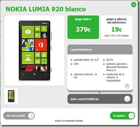 lumia 920 en amena