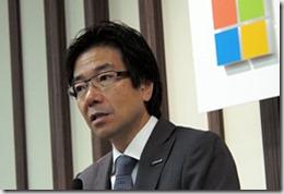 vicepresidente Microsoft japon