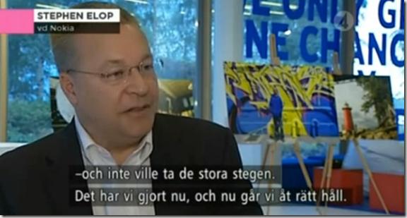 Elop en tv sueca