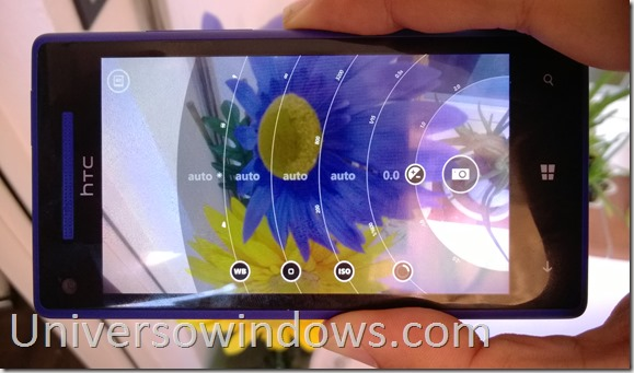 Nokia Pro Cam en HTC 8x