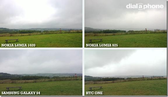 comprativa imagenes Lumia 1020