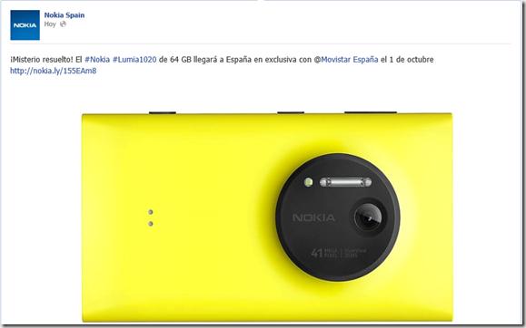 lumia 1020 para españa