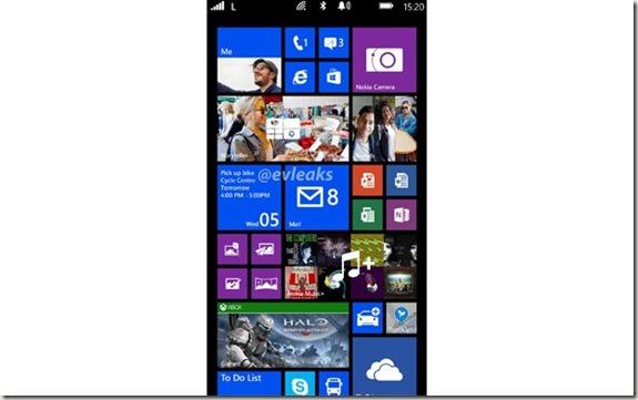 Lumia 1520 captura