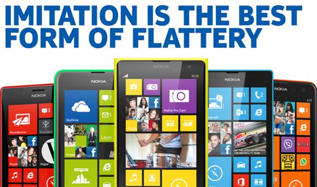 respuesta Nokia al iphone 5c