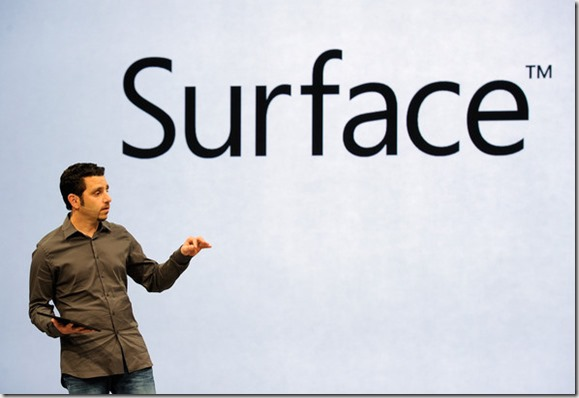 Panos Panay Microsoft Announces Surface